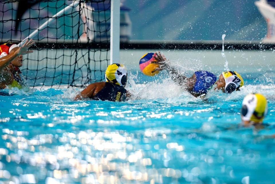 Campeonato Sul-Americano de Desportos Aquatico Absoluto. Parque Olimpico da Juventude. 25 de marco de 2021, Buenos Aires, Argentina. Foto: Satiro Sodré/SSPress/CBDA