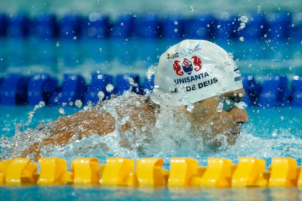 Seletiva Olimpica Brasileira de Natacao. Parque Aquatico Maria Lenk. 21 de abril de 2021, Rio de Janeiro, RJ, Brasil. Foto: Satiro Sodré/SSPress/CBDA