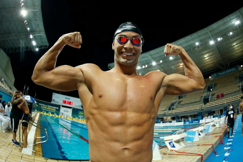 Seletiva Olimpica Brasileira de Natacao. Parque Aquatico Maria Lenk. 22 de abril de 2021, Rio de Janeiro, RJ, Brasil. Foto: Satiro Sodré/SSPress/CBDA