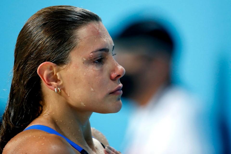 Seletiva Olimpica Brasileira de Natacao. Parque Aquatico Maria Lenk. 24 de abril de 2021, Rio de Janeiro, RJ, Brasil. Foto: Satiro Sodré/SSPress/CBDA