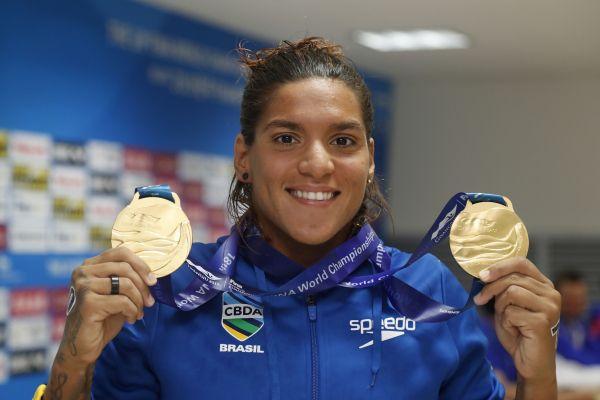 Ana Marcela Cunha é eleita melhor atleta do mundo pela sexta vez