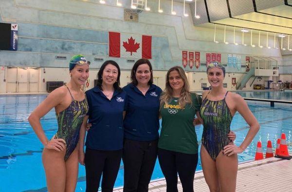 Dueto encerra training camp no Canadá de olho em vaga em Tóquio 2020