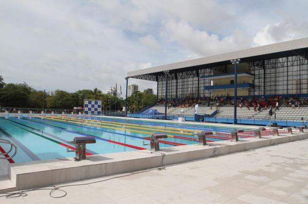 Parque Aquático do Centro Esportivo Santos Dumont é inaugurado em Recife