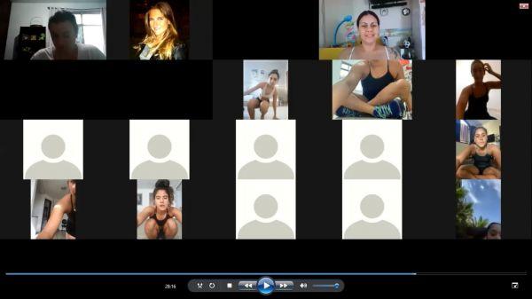 Seletiva virtual define atletas brasileiros para I Competição Online da UANA