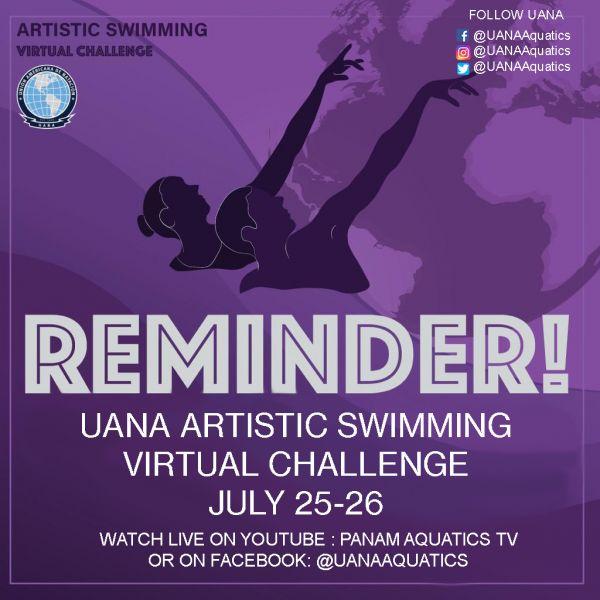 Seleção Brasileira terá seis atletas no Uana Artistic Swim Virtual Challenge