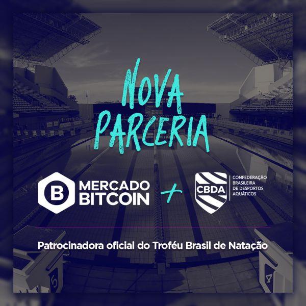 Mercado Bitcoin é o novo patrocinador do Troféu Brasil de Natação