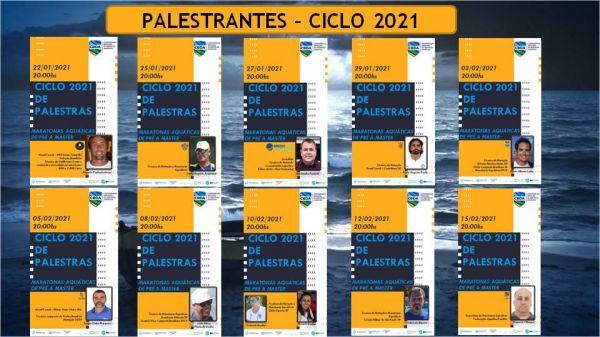 CBDA dá início a Ciclo 2021 de Palestras de Maratonas Aquáticas