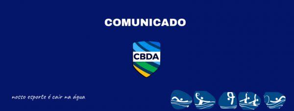 Comunicado - Seleção Brasileira Masculina de Polo Aquático