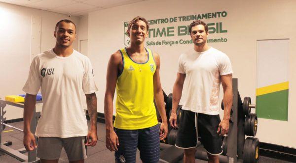 Velocistas brasileiros se preparam para a Seletiva Olímpica de natação no CT Time Brasil