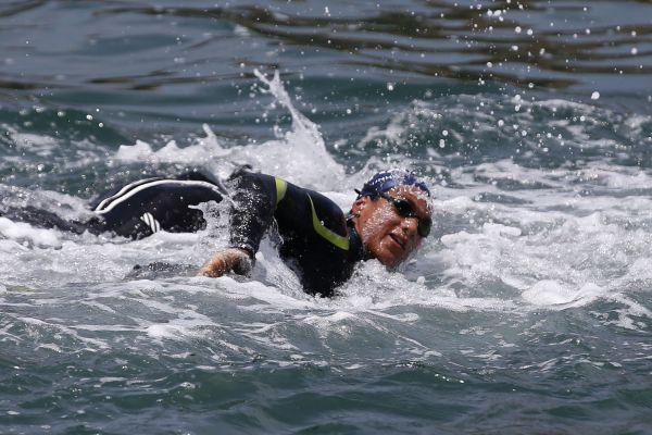 Ana Marcela e Allan do Carmo estreiam no Circuito Mundial de Maratonas Aquáticas