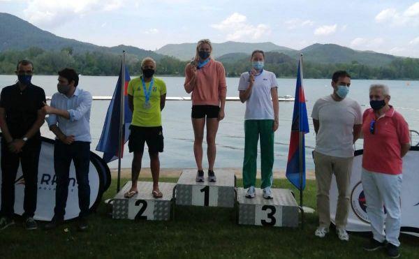 Ana Marcela é prata no Campeonato Espanhol de Águas Abertas