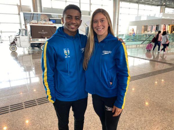 FINA volta atrás, e Isaac Souza e Luana Lira retornam à Seleção Olímpica de Saltos Ornamentais