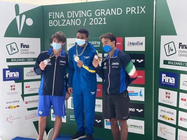 Isaac Souza conquista a medalha de ouro no Grand Prix de Bolzano