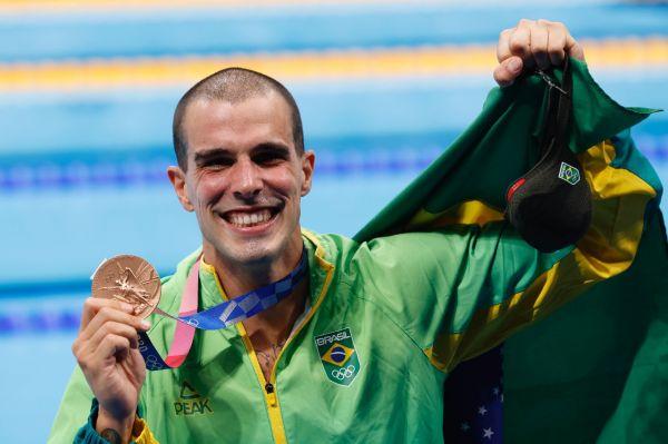 Histórico! Bruno Fratus conquista o bronze olímpico e coroa regularidade de  mais de dez anos