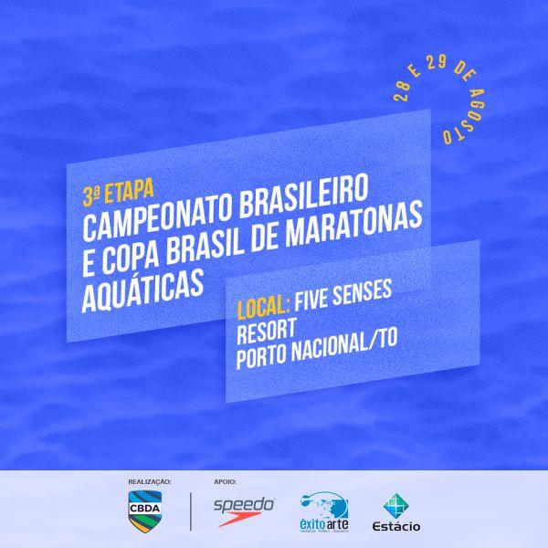 Palmas recebe 3ª etapa do Campeonato Brasileiro e Copa Brasil de Maratonas Aquáticas
