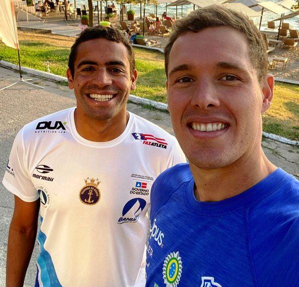 Allan do Carmo e Diogo Villarinho disputam etapa de Ohrid da Copa do Mundo da Fina