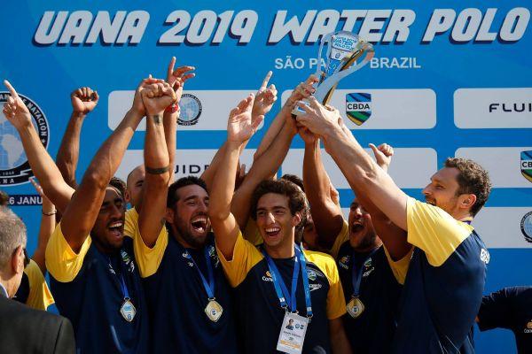 Brasil receberá Pan-Americano Sub-18 e Copa UANA de Polo Aquático em 2022