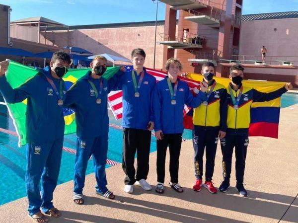 Brasil encerra Pan-Americano Junior de Saltos Ornamentais com bronze
