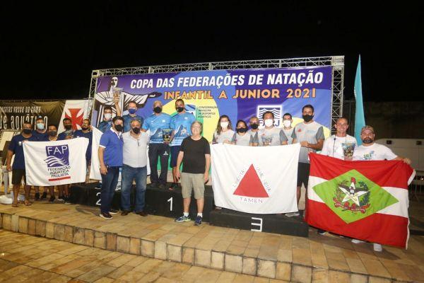 Rio de Janeiro é campeão da I Copa das Federações de Natação