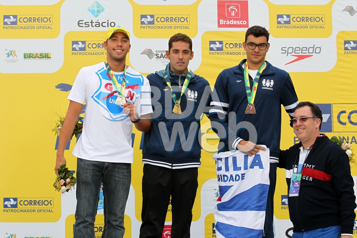 Carlos Rogerio Arapiraca. 54º Trofeu Maria Lenk de Maratonas Aquaticas na raia Olimpica da USP. 26 de abril de 2014, Sao Paulo, SP, Brasil. Foto: Satiro Sodre/SSPress