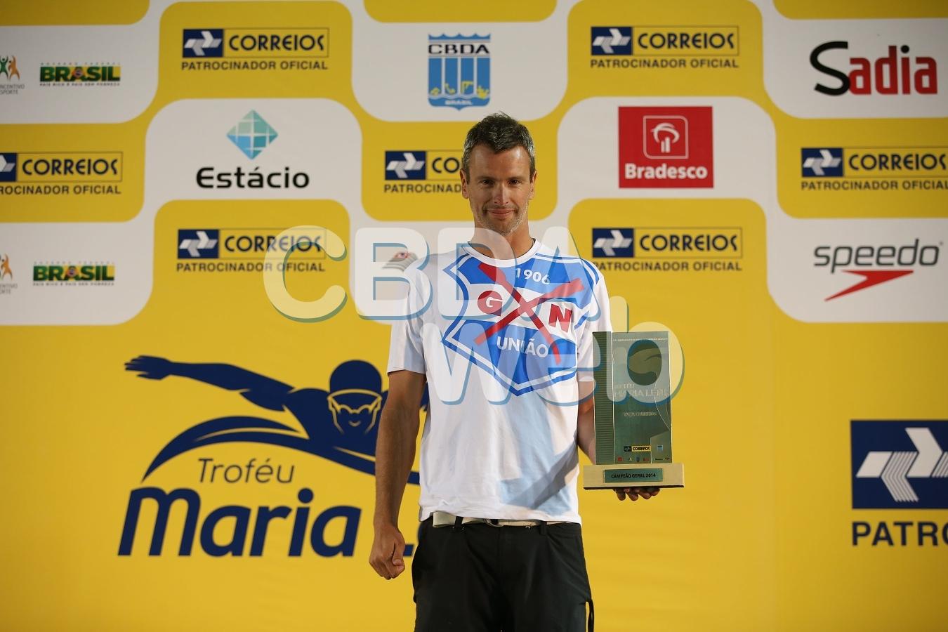 Gremio Nautico Uniao campeao geral das Maratonas Aquaticas na raia Olimpica da USP. 26 de abril de 2014, Sao Paulo, SP, Brasil. Foto: Satiro Sodre/SSPress