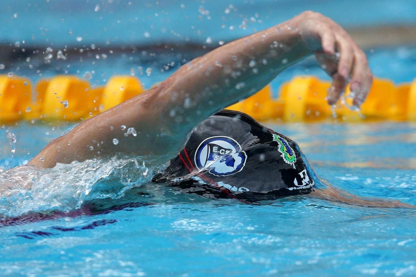 Manuella Lyrio. Trofeu Maria Lenk. Parque Aquatico Maria Lenk. 05 de Maio de 2017, Rio de Janeiro, RJ, Brasil. Foto: Satiro Sodré/SSPress/CBDA
