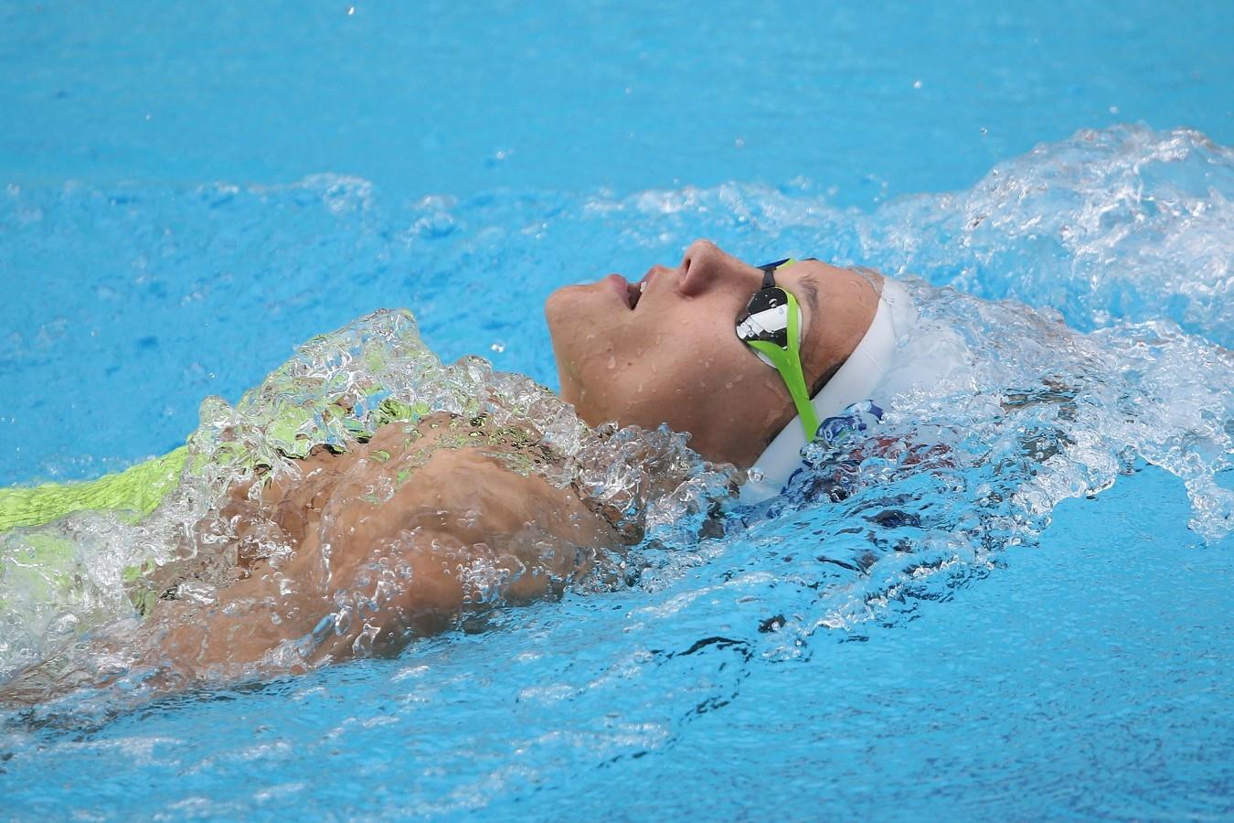 Andrea Berrino. Trofeu Maria Lenk. Parque Aquatico Maria Lenk. 05 de Maio de 2017, Rio de Janeiro, RJ, Brasil. Foto: Satiro Sodré/SSPress/CBDA