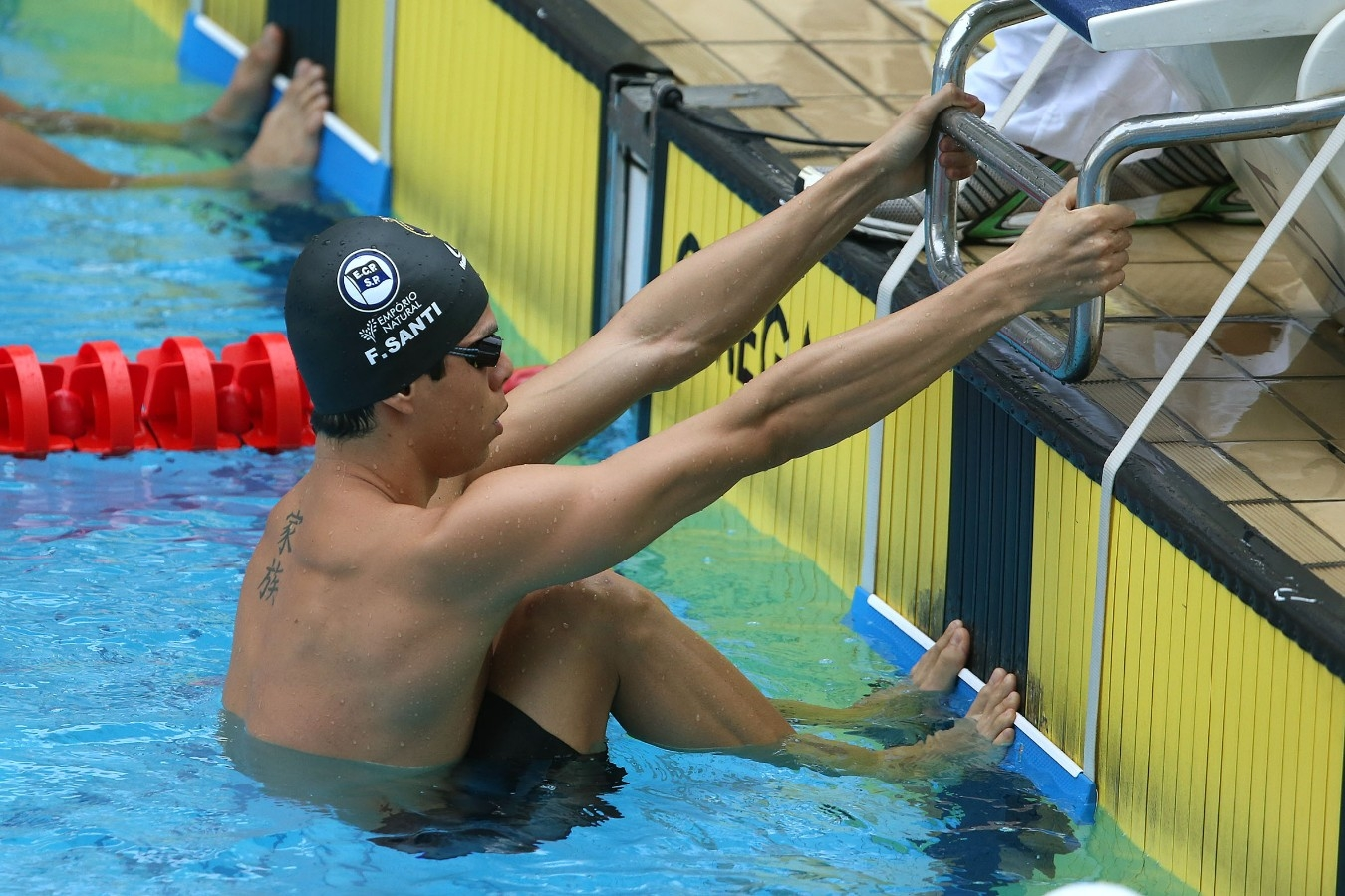 Fabio Santi. Trofeu Maria Lenk. Parque Aquatico Maria Lenk. 05 de Maio de 2017, Rio de Janeiro, RJ, Brasil. Foto: Satiro Sodré/SSPress/CBDA