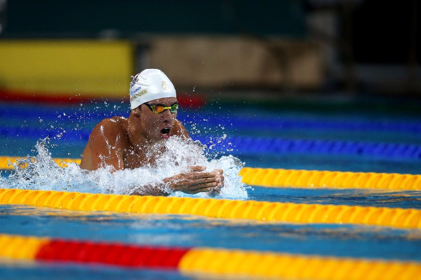 Brandonn Almeida. Trofeu Maria Lenk. Parque Aquatico Maria Lenk. 05 de Maio de 2017, Rio de Janeiro, RJ, Brasil. Foto: Satiro Sodré/SSPress/CBDA