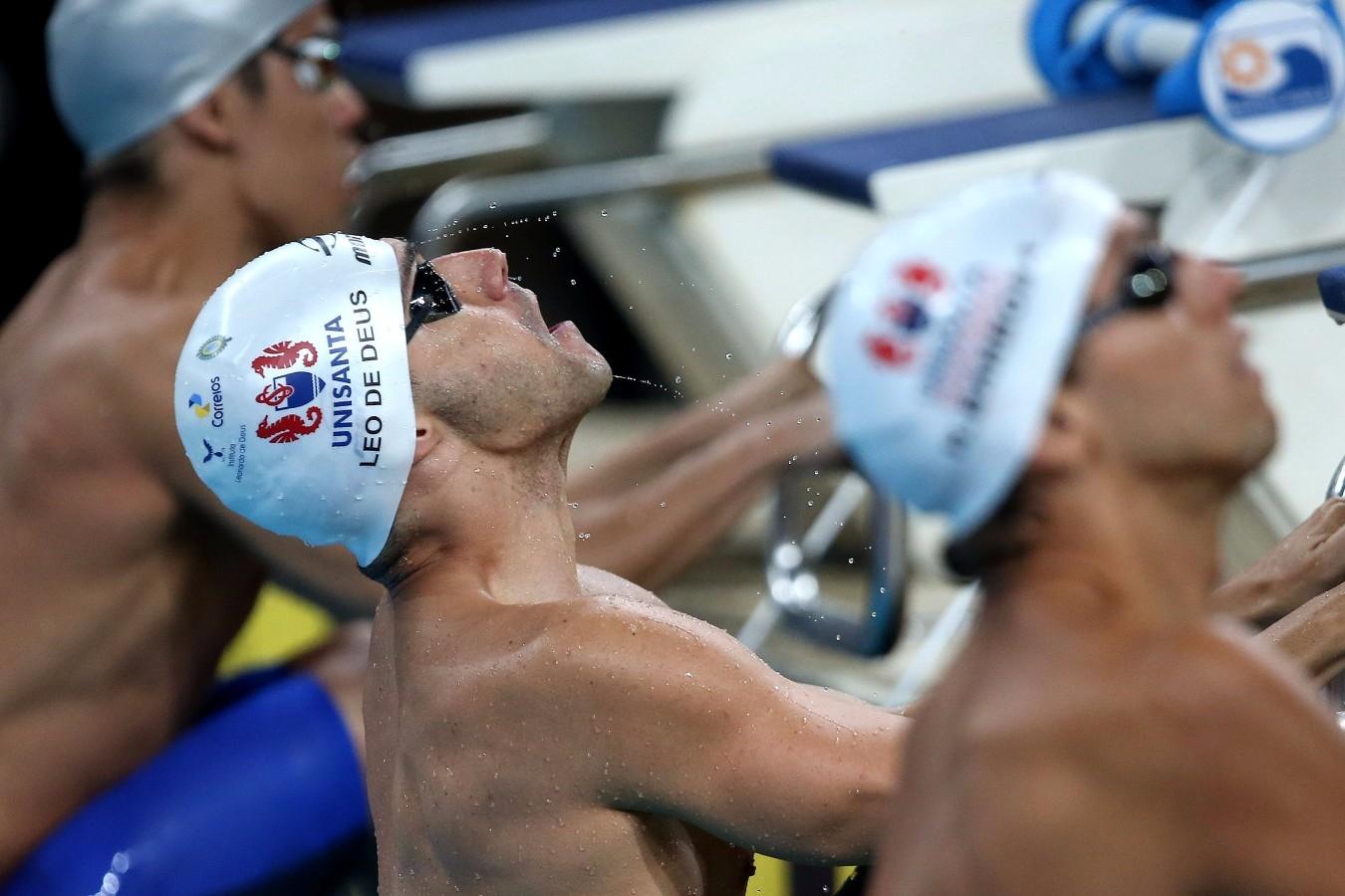 Leonardo de Deus. Trofeu Maria Lenk. Parque Aquatico Maria Lenk. 05 de Maio de 2017, Rio de Janeiro, RJ, Brasil. Foto: Satiro Sodré/SSPress/CBDA