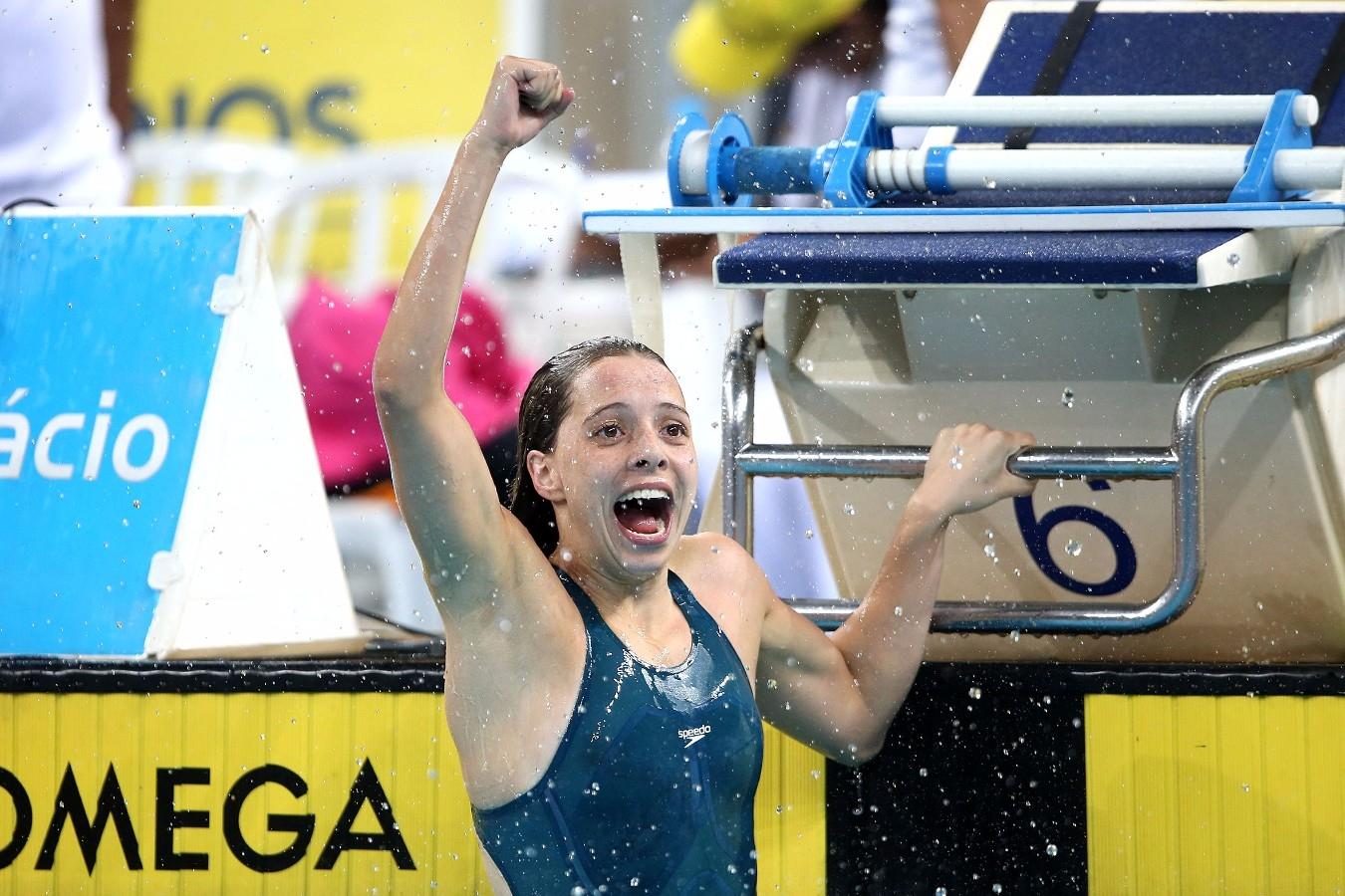 Fernanda Goeij. Trofeu Maria Lenk. Parque Aquatico Maria Lenk. 05 de Maio de 2017, Rio de Janeiro, RJ, Brasil. Foto: Satiro Sodré/SSPress/CBDA