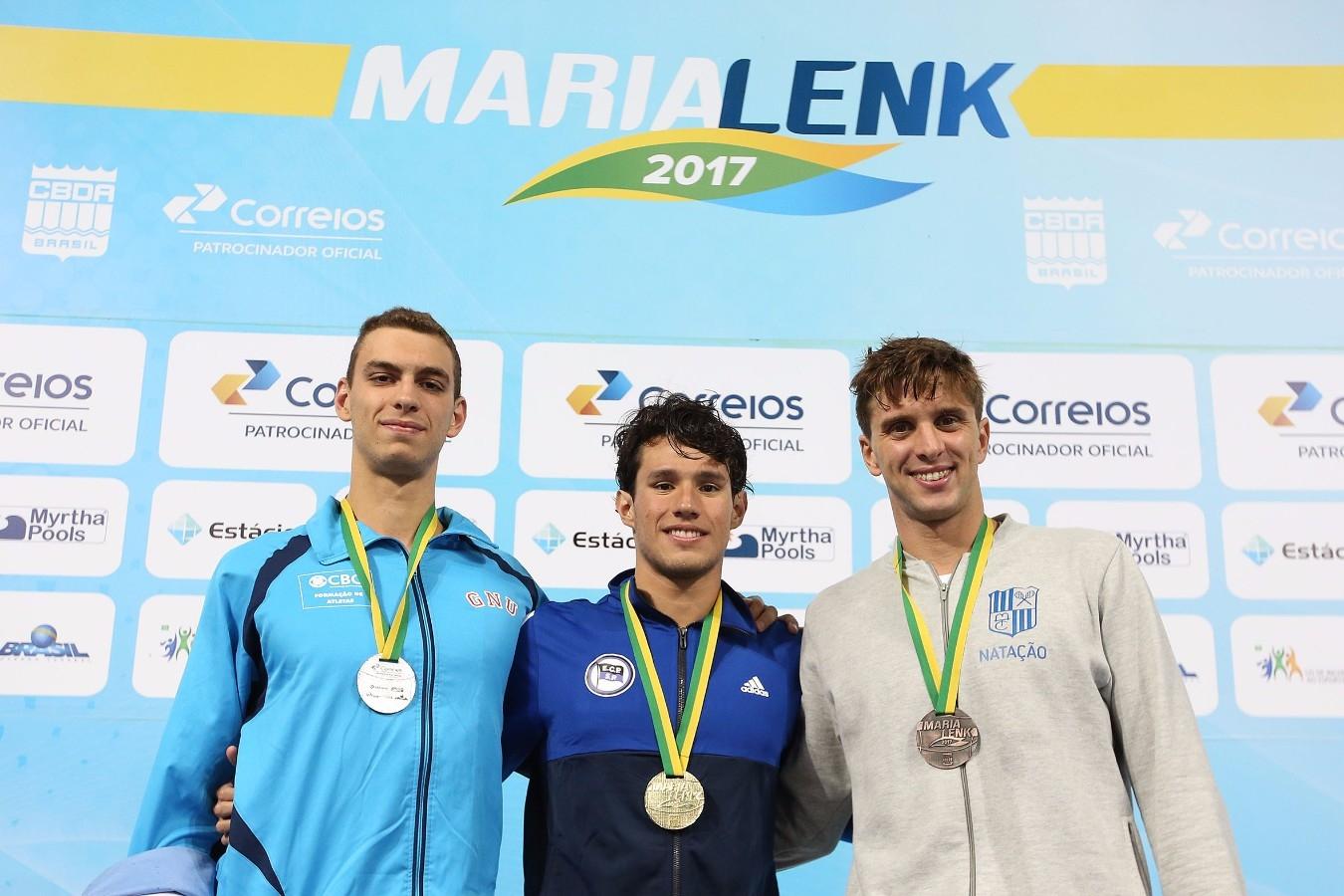 Trofeu Maria Lenk. Parque Aquatico Maria Lenk. 05 de Maio de 2017, Rio de Janeiro, RJ, Brasil. Foto: Satiro Sodré/SSPress/CBDA