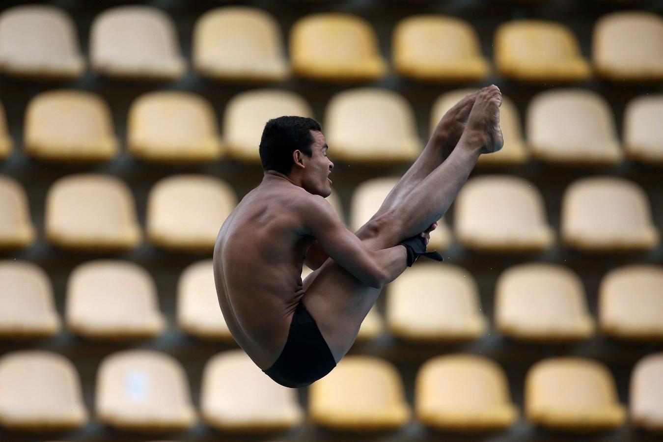 Trampolim de 3 metros. Trofeu Brasil de Saltos Ornamentais. 18 de maio de 2017, Rio de Janeiro, RJ. Foto: Satiro Sodré/SSPress/CBDA