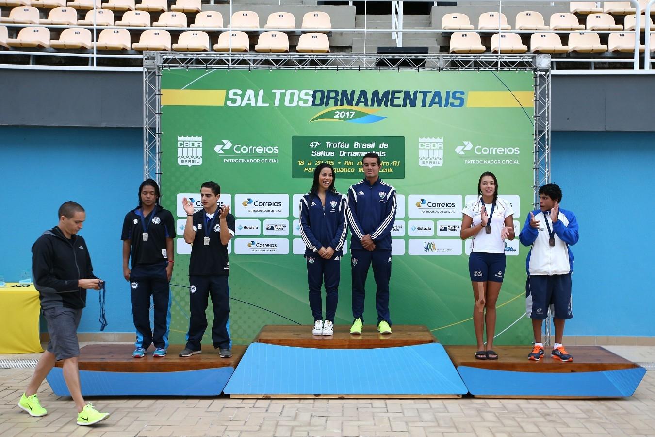 Equipe. Trofeu Brasil de Saltos Ornamentais. 18 de maio de 2017, Rio de Janeiro, RJ. Foto: Satiro Sodré/SSPress/CBDA