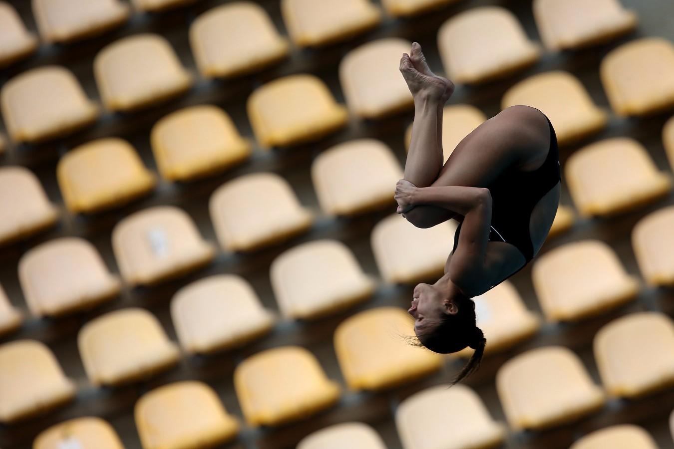 Trampolim de 3 metros. Trofeu Brasil de Saltos Ornamentais. 20 de maio de 2017, Rio de Janeiro, RJ. Foto: Satiro Sodré/SSPress/CBDA