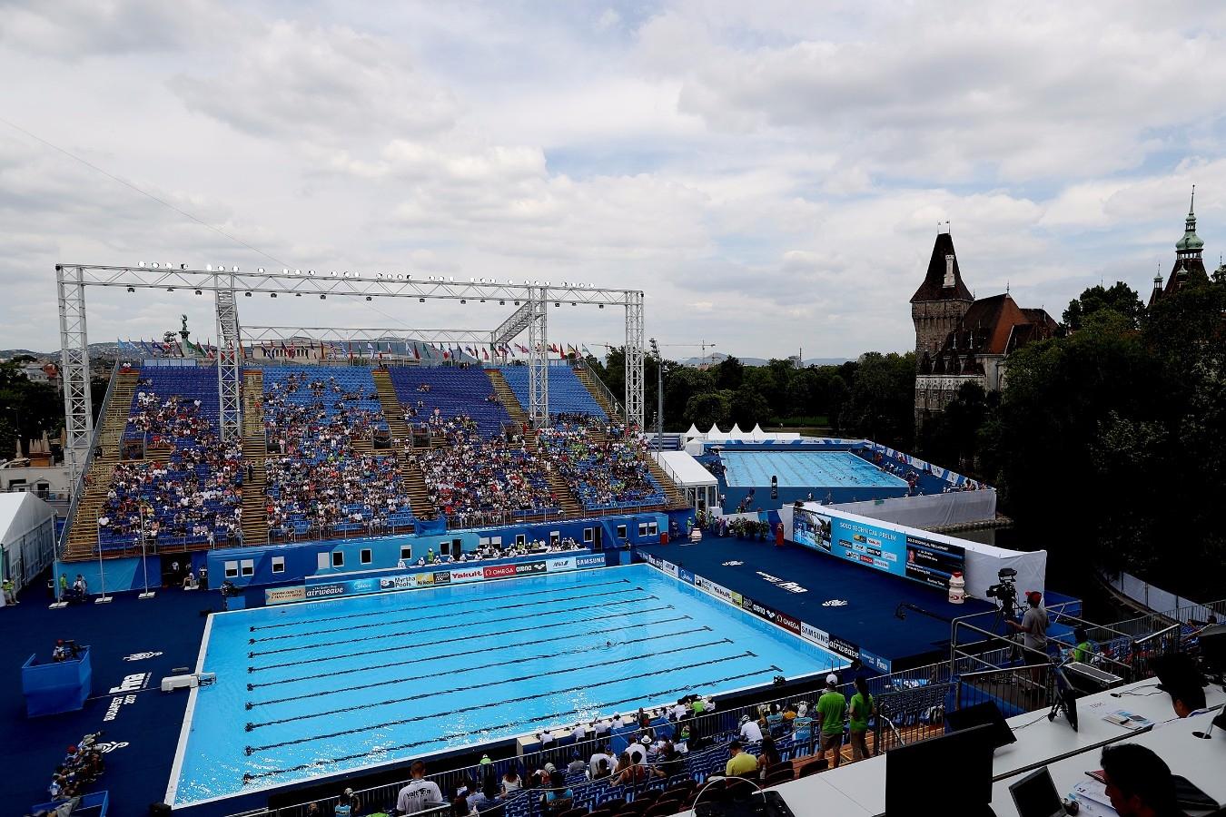 Campeonato Mundial de Desportos Aquaticos. City Park - Varosliget Lake . 14 de Julho de 2017, Hungria, Budapeste. Foto: Satiro Sodré/SSPress/CBDA