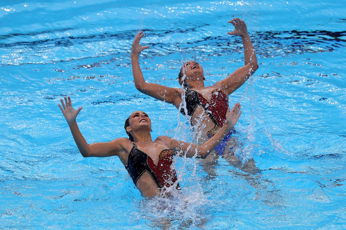 Luisa Borges, Maria Clara. Campeonato Mundial de Desportos Aquaticos. City Park - Varosliget Lake . 14 de Julho de 2017, Hungria, Budapeste. Foto: Satiro Sodré/SSPress/CBDA