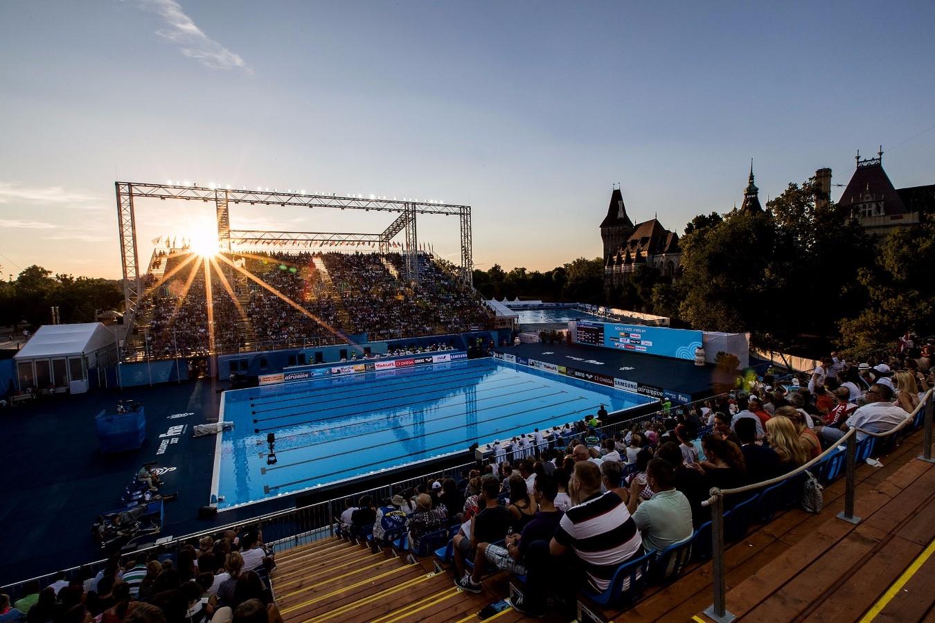 Campeonato Mundial de Desportos Aquaticos. City Park. 17 de Julho de 2017, Budapeste, Hungria. Foto: Satiro Sodré/SSPress/CBDA