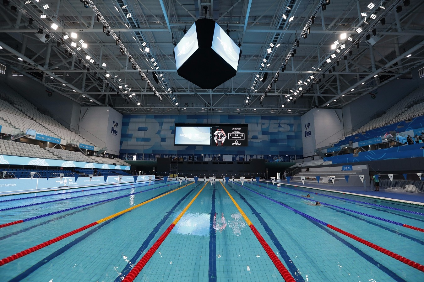 Campeonato Mundial de Desportos Aquaticos. Duna Arena. 12 de Julho de 2017, Hungria, Budapeste. Foto: Satiro Sodré/SSPress/CBDA