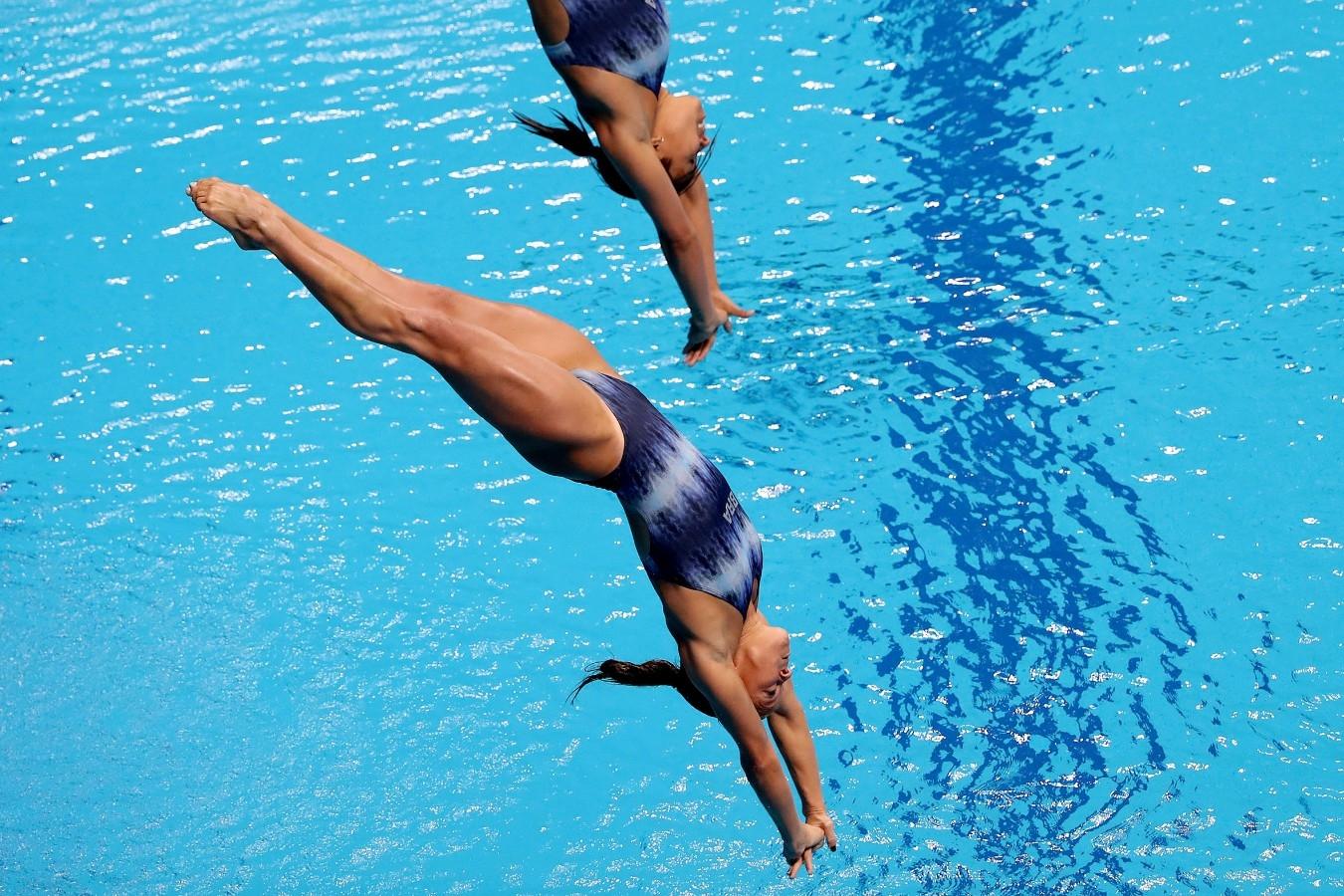 Tammy, Luana. Campeonato Mundial de Desportos Aquaticos. Duna Arena. 17 de Julho de 2017, Budapeste, Hungria. Foto: Satiro Sodré/SSPress/CBDA