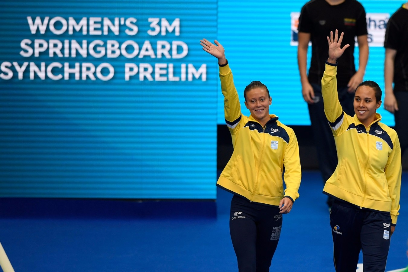Tammy, Luana. Campeonato Mundial de Desportos Aquaticos. Duna Arena. 17 de Julho de 2017, Budapeste, Hungria. Foto: Simone Castrovillare/SSPress/CBDA