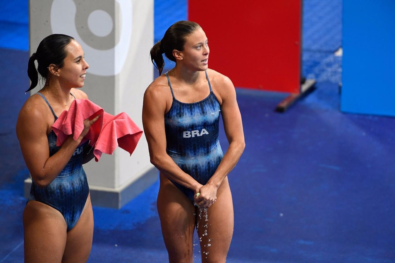 Tammy, Luana. Campeonato Mundial de Desportos Aquaticos. Duna Arena. 17 de Julho de 2017, Budapeste, Hungria. Foto: Simone Castrovillari/SSPress/CBDA