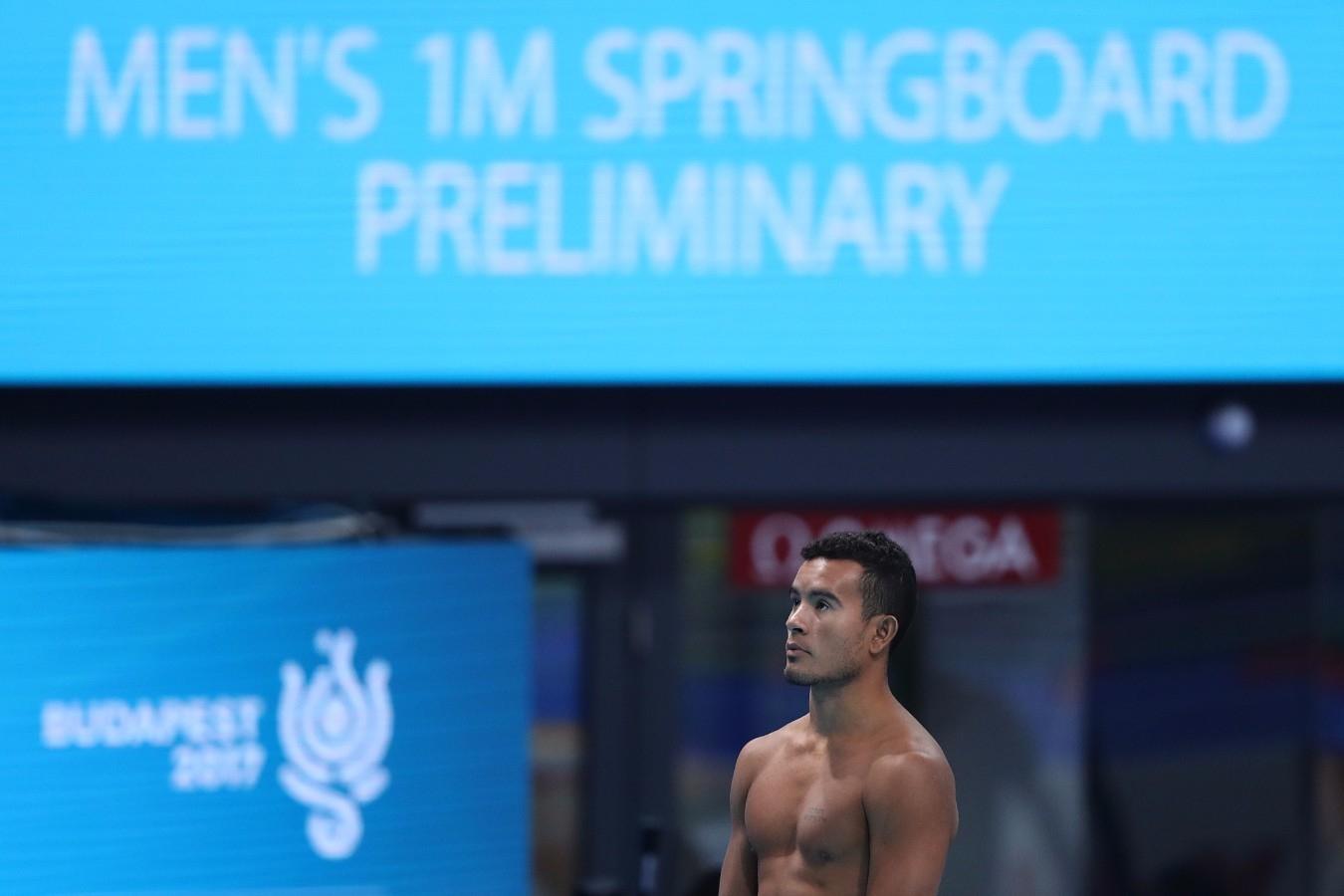 Ian Matos. Campeonato Mundial de Desportos Aquaticos. Duna Arena. 14 de Julho de 2017, Hungria, Budapeste. Foto: Satiro Sodré/SSPress/CBDA