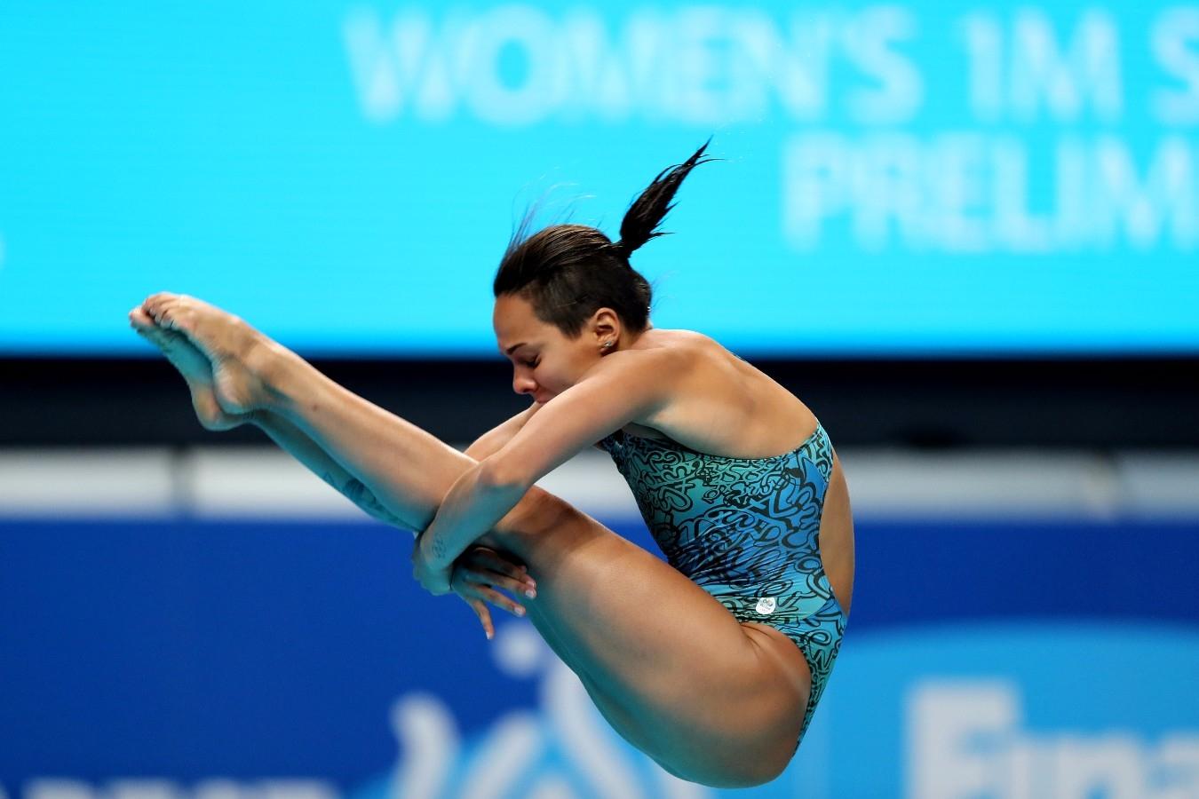 Tammy Galera. Campeonato Mundial de Desportos Aquaticos. Duna Arena. 14 de Julho de 2017, Hungria, Budapeste. Foto: Satiro Sodré/SSPress/CBDA