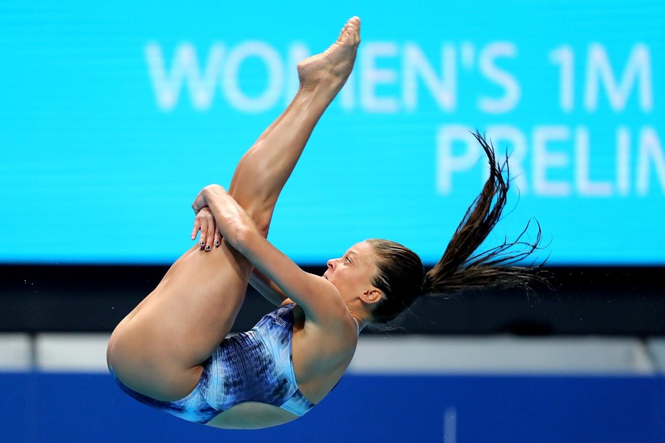 Luana Lira. Campeonato Mundial de Desportos Aquaticos. Duna Arena. 14 de Julho de 2017, Hungria, Budapeste. Foto: Satiro Sodré/SSPress/CBDA