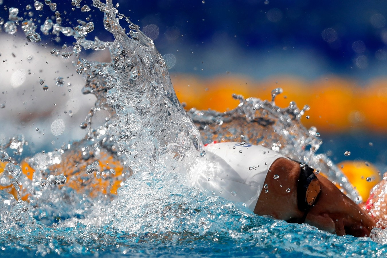 Gabrielle Roncatto. Trofeu Brasil de Natatacao no Parque Aquatico Maria Lenk. 17 de Abril de 2018, Rio de Janeiro, RJ, Brasil. Foto: Satiro Sodré/SSPress/CBDA