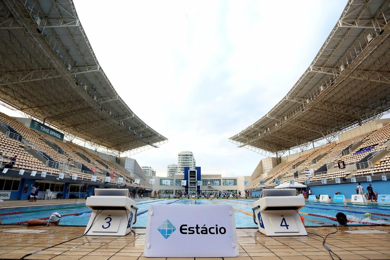 Trofeu Maria Lenk de Natacao. 15 de abril de 2019. Parque Aquatico Maria Lenk. Rio de Janeiro, Rj, Brasil. Foto: Ricardo Sodré/SSPress/CBDA