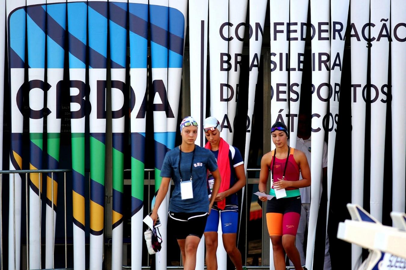 Trofeu Maria Lenk de Natacao. Parque Aquatica Maria Lenk. 16 de abril de 2019, Rio de Janeiro, RJ Brasil. Foto: Ricardo Sodré/SSPress/CBDA.