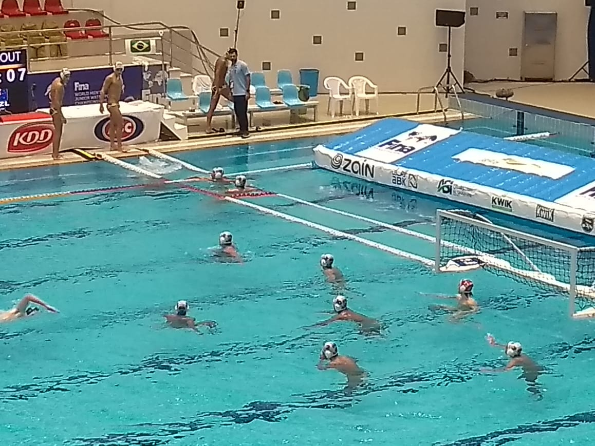 Brasil é superado pela Nova Zelândia no Campeonato Mundial Júnior de Polo Aquático